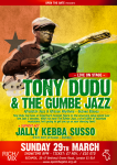 Tony Dudu & The Gumbe Jazz – Live
