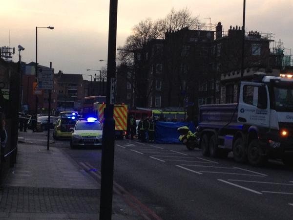 Second cyclist to be killed on Hackney Streets in 2 weeks.