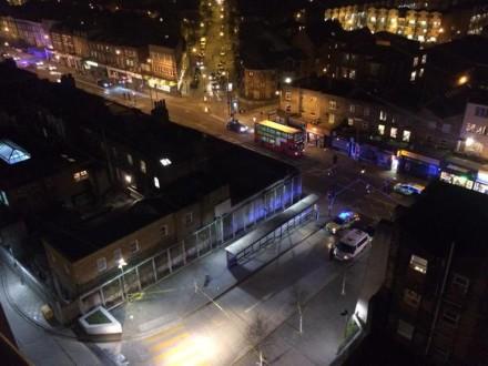 A view of crime scene from @JackBarham window