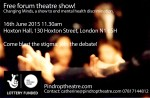 'Changing Minds' a free forum theatre show