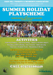 HHTRA Summer Holiday Playscheme