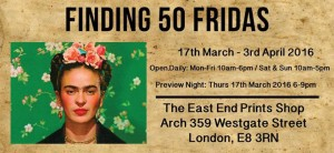 Finding 50 Fridas @ Fount London | London | United Kingdom