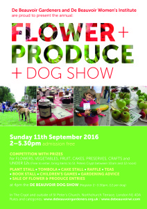 De Beauvoir Flower and Produce (and Dog) Show @ St. Peters Crypt and utsdie in Northchurch Terrace | London | England | United Kingdom